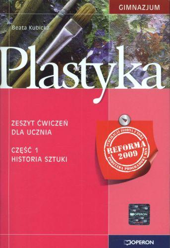 Plastyka, klasa 1-3, Historia sztuki, zeszyt ćwiczeń, część 1, Operon