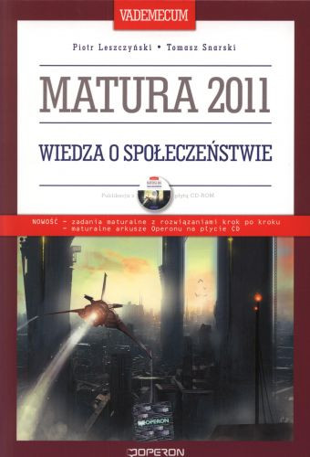 Wiedza o społeczeństwie. Matura 2011. Vademecum. Operon + CD