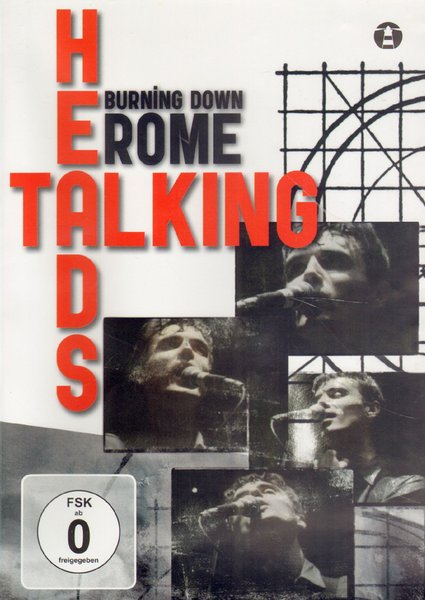 Burning Down Rome koncert dvd Talking Heads