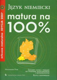 Matura na 100% Język niemiecki z płytą CD