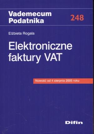 Elektroniczne faktury vat - Elżbieta Rogala