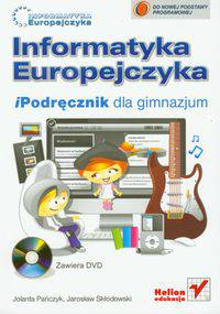 Informatyka Europejczyka iPodręcznik z płytą DVD dla gimnazjum