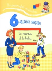 6-latek czyta. Uniwersytet malucha