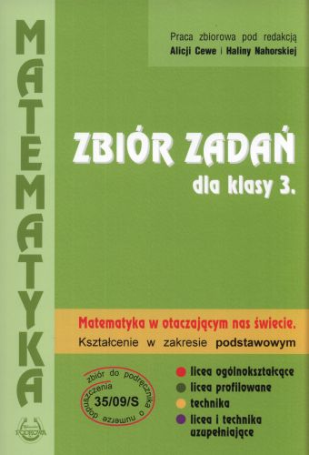 Matematyka, klasa 3, zakres podstawowy, zbiór zadań, Podkowa