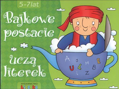 Bajkowe postacie uczą literek. 5-7 lat