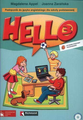 Hello 3, podręcznik + CD