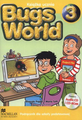 Bugs World 3- podręcznik + cd gratis