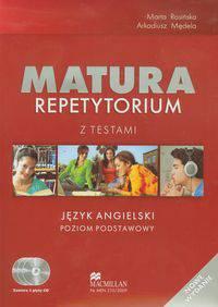 Matura Repetytorium z testami Język angielski Poziom podstawowy + CD