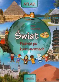 Atlas Świat podróż po kontynentach