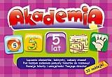 Akademia 5 lat łączenie elementów labirynty zabawy słowne
