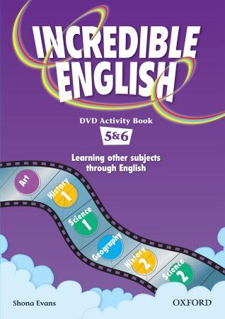 Incredible English Aktivity Book (ekspozycja brak płyt DVD)