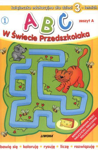 Abc w świecie przedszkolaka dla 3-letnich