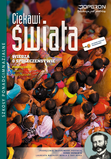 Ciekawi świata Wiedza o społeczeństwie WOS Podręcznik Zakres podstawowy szkoła ponadgimnazjalna