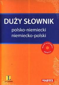 Duży słownik polsko-niemiecki niemiecko-polski + CD