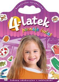 4-latek poznaje świat Książeczka torebeczka