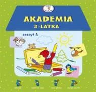 Akademia 3 latka zeszyt A