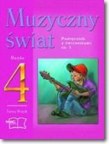 Muzyczny świat kl.4 cz.1-podr.z ćwicz.