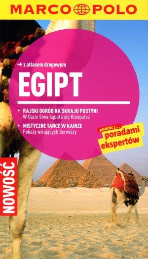 Egipt. Przewodnik Marco Polo z atlasem drogowym