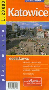 Katowice-plan miasta 1:20 000