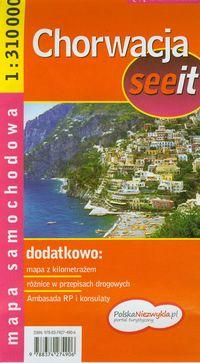 Chorwacja see it - mapa samochodowa 1:310 tys