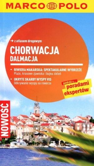 Chorwacja: Dalmacja. Przewodnik Marco Polo z atlasem drogowym
