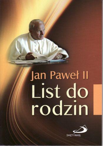 Jan Paweł II list do rodzin