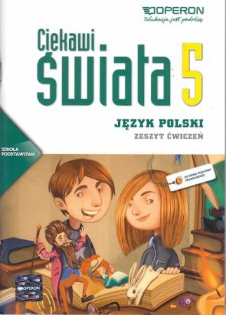 Ciekawi świata j.polski kl.5-zeszyt ćwiczeń