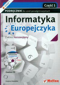 Informatyka europejczyka cz.1 szk.śr-podręcznik+cd