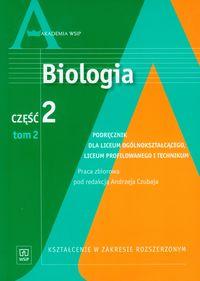 Biologia cz.2. Tom 2. Szkoła średnia -podręcznik
