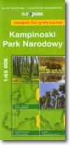 Kampinoski Park Narodowy mapa turystyczna 1:65 000