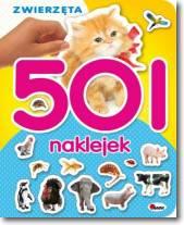 501 naklejek zwierzęta