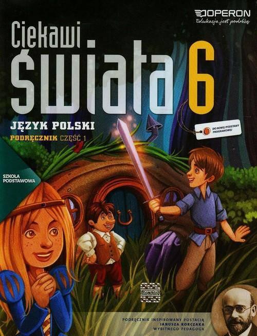 Ciekawi świata j.polski kl.6 cz.1-podręcznik