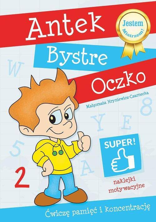 Antek Bystre Oczko Ćwiczę pamięć i koncentrację 2