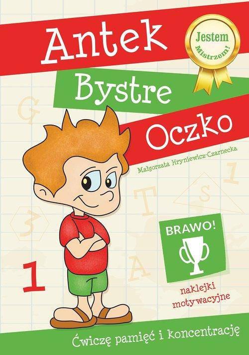 Antek Bystre Oczko Ćwiczę pamięć i koncentrację 1
