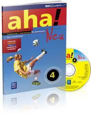 Aha 4 neu-podręcznik z ćw+CD zakres rozszerzony