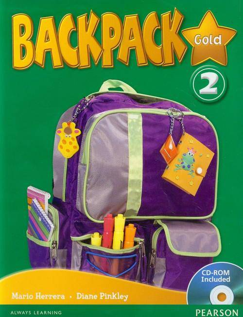 Backpack Gold 2 with CD