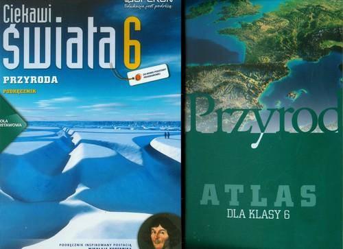 Ciekawi świata klasa 6 Przyroda Podręcznik + Przyroda Atlas
