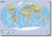 Mapa Świat-ścienna+pisak