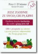 Osobista książka kucharska dla osób z grupą krwi AB