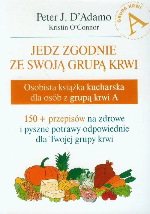 Osobista książka kucharska dla osób z grupą krwi B