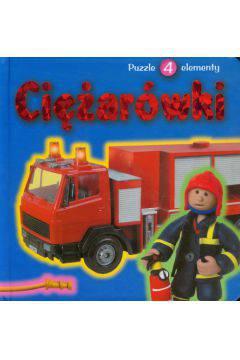 Ciężarówki-puzzle 4 elementy