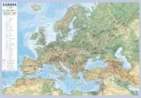 Europa-mapa fizyczno-polityczna