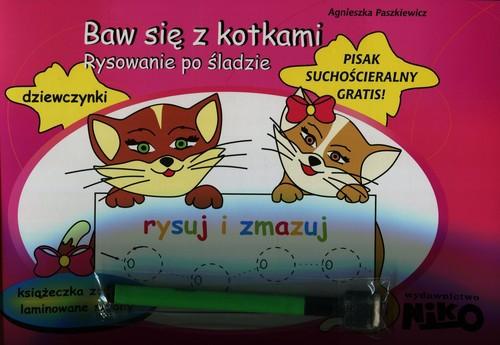 Baw się z kotkami Rysowanie po śladzie