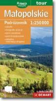 Małopolskie podróżownik 1:250 000 mapa