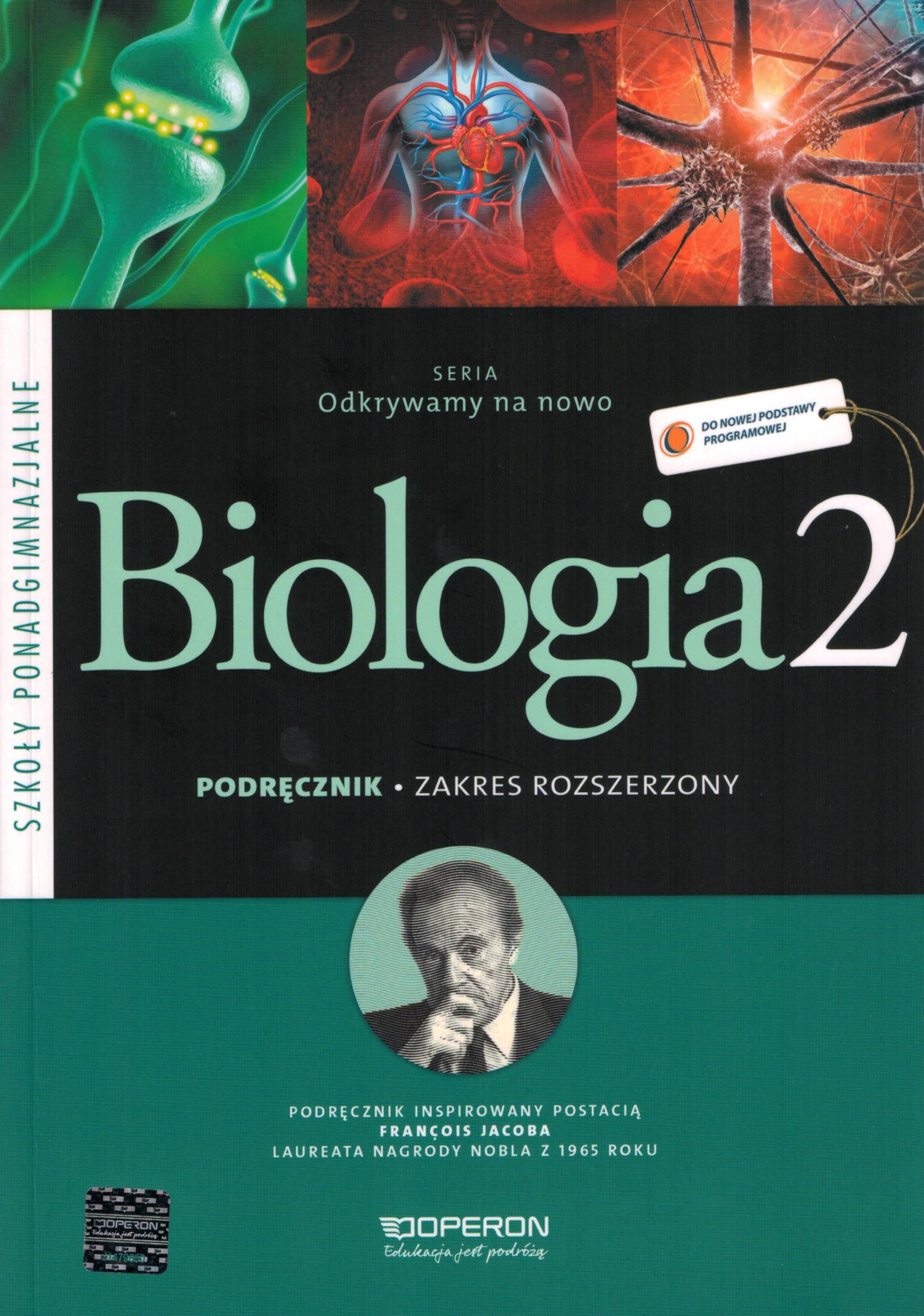 Biologia 2. Podręcznik. Zakres rozszerzony. Odkrywamy na nowo