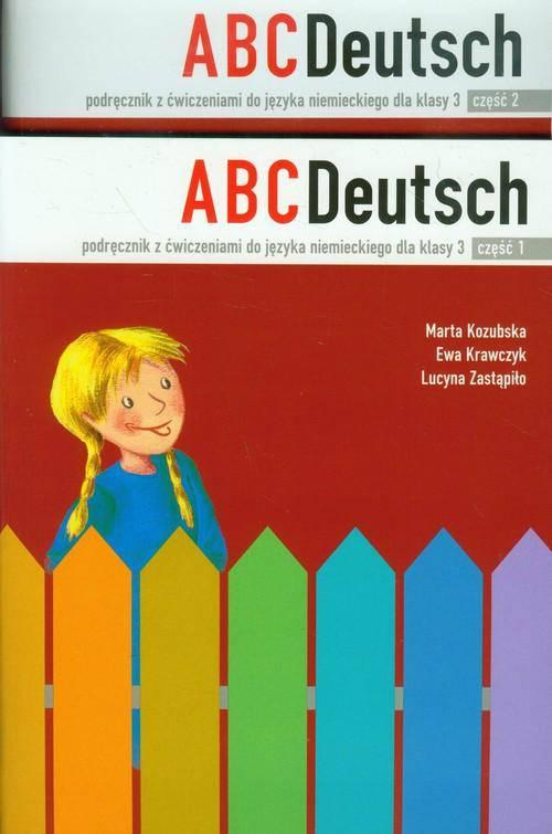 ABC Deutsch 3 Podręcznik z ćwiczeniami Część 1-2 Pakiet. Szkoła podstawowa