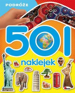 501 naklejek Podróże