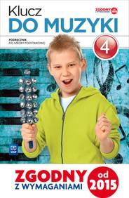 Klucz do muzyki kl.4-podręcznik