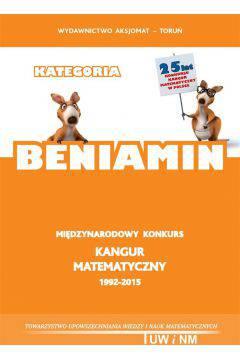 Kangur matematyczny 1992-2015 kategoria beniamin