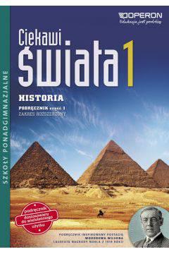 Ciekawi świata 1 Historia L.O. Podręcznik wieloletni cz.1 zakres rozszerzony